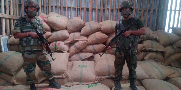 Illegal areca nut consignment worth over Rs 1.7 crores seized in Mizoram 1