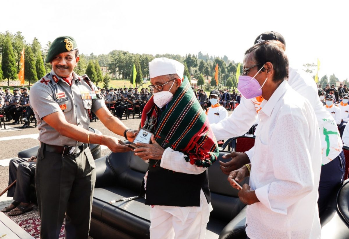 Azadi Ka Amrit Mahotsav: Assam Rifles takes out cycle rally, starts journey from Shillong 4