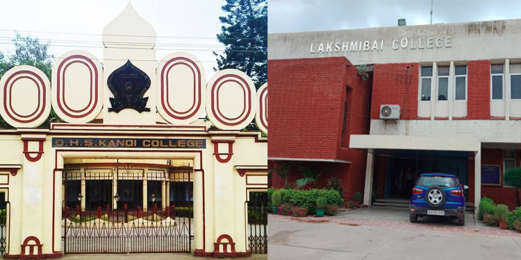 DHSK College and Lakshmibai College