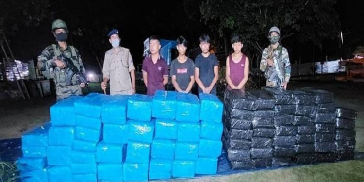 Nagaland: 5 held with 1,000 kg marijuana in Dimapur 1
