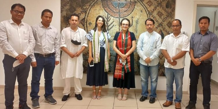 Tripura: After Brazilian Ambassador, TTAADC members meet Israeli officials in India 1