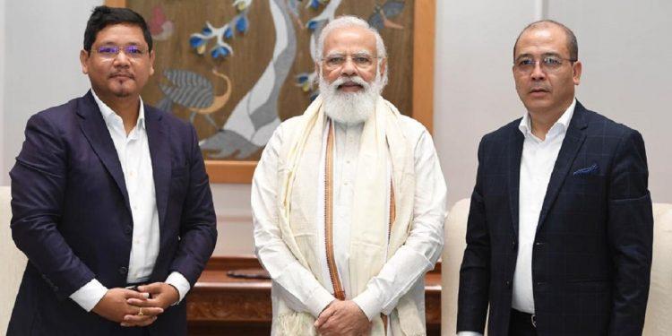 Meghalaya CM Conrad Sangma meets PM Narendra Modi in New Delhi 1