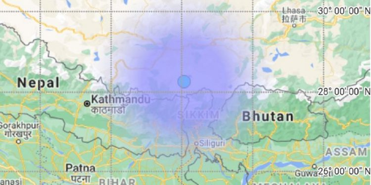 Mild earthquake jolts Himalayan state of Sikkim 1
