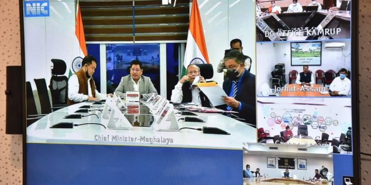 Meghalaya, Assam CMs discuss inter-state border issue, regional panels to submit reports by October 20 1