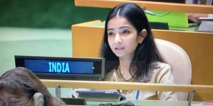 'Roar like lioness': Netizens laud young diplomat Sneha Dubey for hitting out at Pakistan 1