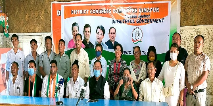 Nagaland Cong launches 'crusade' against 'unfaithful' state govt 1