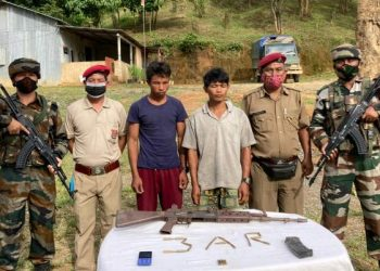 Two Myanmar nationals held with arms in Mizoram 1