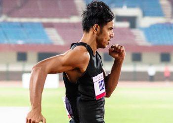 Assam sprinter Amlan Borgohain wins gold at National Open Athletics Championships 2