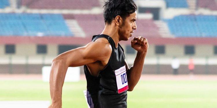 Assam sprinter Amlan Borgohain wins gold at National Open Athletics Championships 1