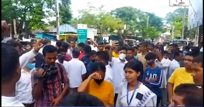Assam Power Minister Bimal Bora faces protest in Majuli 1