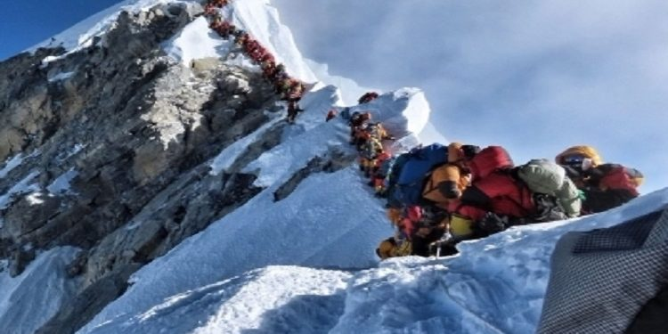 160 climbers get permits to summit 2 Himalayan Mountains inside Nepal 1