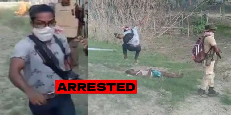 Assam: Photographer, who jumped on 'dead body' during clash in Sipajhar, arrested 1