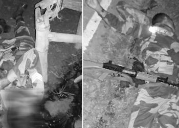 Tripura: Two BSF personnel killed in brawl, officer shot at 4