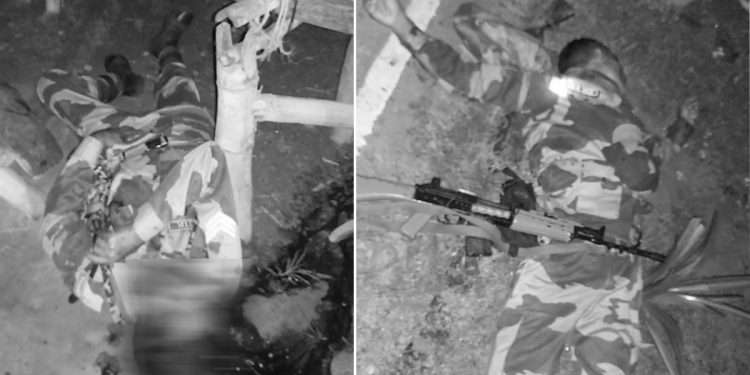 Tripura: Two BSF personnel killed in brawl, officer shot at 1