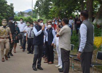Outgoing Nagaland Governor RN Ravi