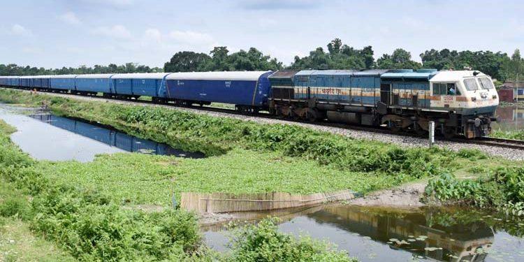 Parcel train NF Railway