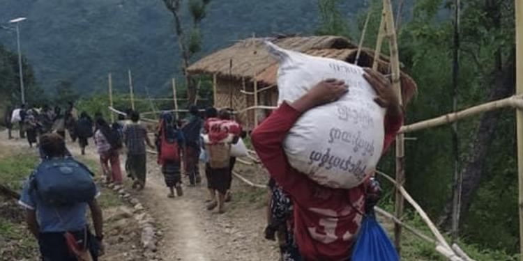 Over 1,800 more Myanmar nationals enter Mizoram in fresh influx 1