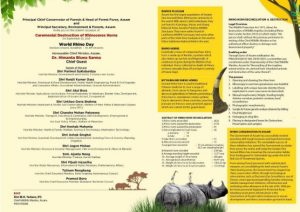 Rhino horns burning to be mega show in presence of Assam CM, 10 ministers 2