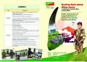 Rhino horns burning to be mega show in presence of Assam CM, 10 ministers 1