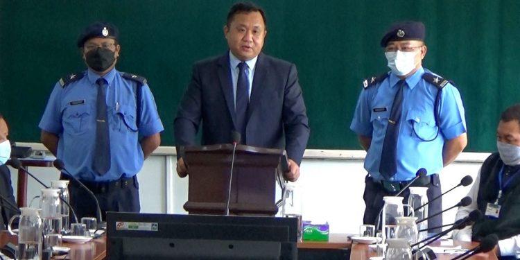 Mizoram transport minister unveils online payment system 1