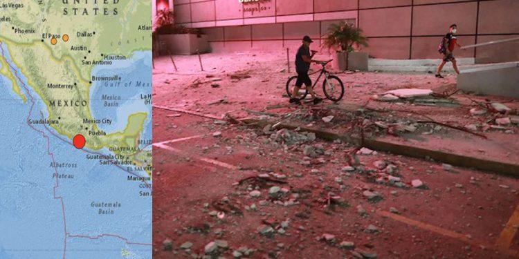 Massive 7.1 magnitude earthquake shakes Mexico 1