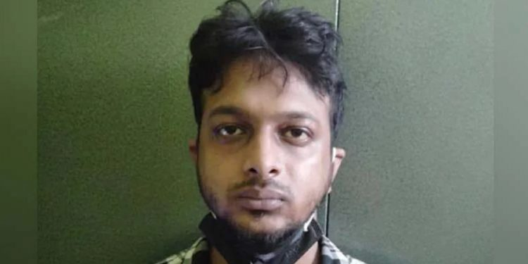 Guwahati rave party drugs supplier Bishal Choudhury tries to 'escape', shot by Assam police 1