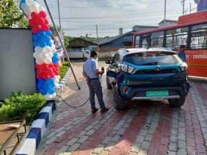 Guwahati : 1st Electric Vehicle Charging Station inaugurated 1