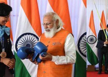 Assam: Lovlina Borgohain's boxing gloves receive highest bid at e-auction of Modi's gift 5