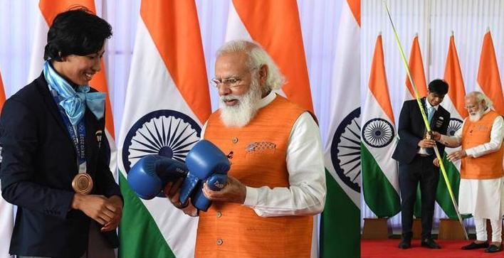 Assam: Lovlina Borgohain's boxing gloves receive highest bid at e-auction of Modi's gift 1