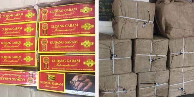 foreign-origin cigarrettes