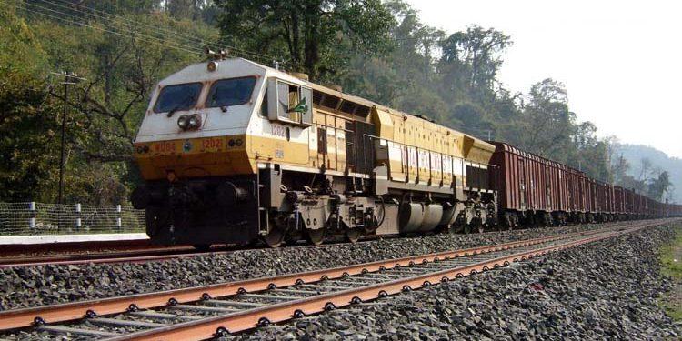 freight train goods train NF Railway
