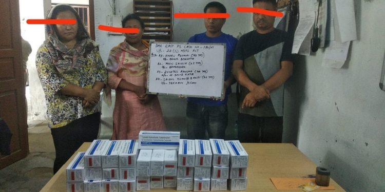 Nagaland: 6 extortionists, 5 drug peddlers held in Dimapur 1
