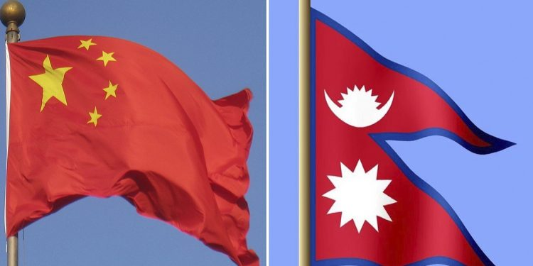 China 'occupies' Nepal territory! Youths body stages protest in Kathmandu 1