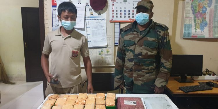 Mizoram: Two held with heroin worth Rs 18.14 lakh 1