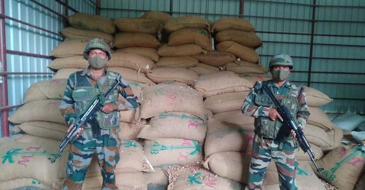 Assam Rifles areca nuts