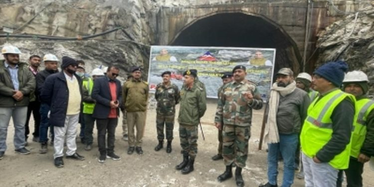 Major breakthrough by BRO in Arunachal tunnel project 1
