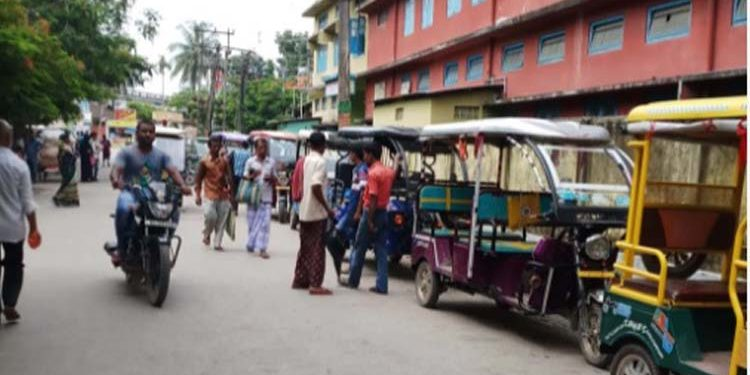 Dhubri town
