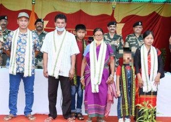 Tripura: Senior NLFT commander surrenders before BSF 5