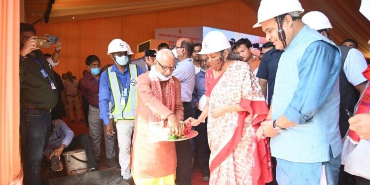 Union finance minister Nirmala Sitharaman lays foundation of hydropower project in Assam's Dima Hasao 1