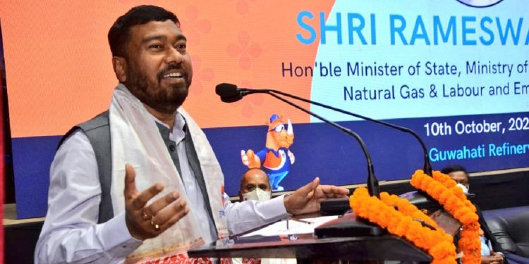 Prices of fuel high due to free COVID vaccines: Union minister Rameswar Teli 1