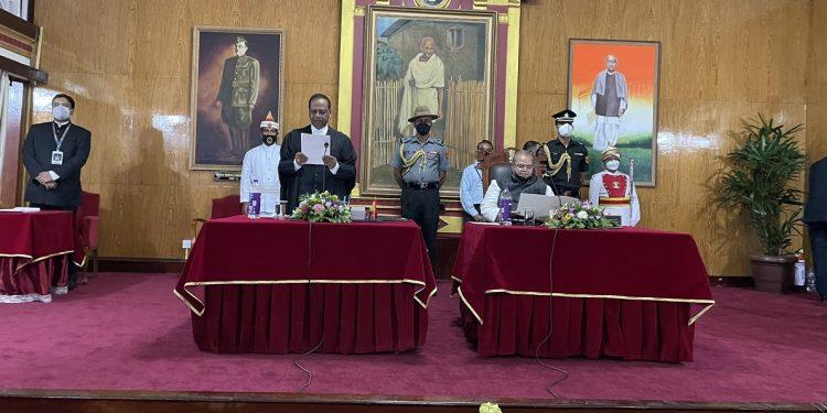 Ranjit Vasantrao More sworn-in as chief justice of Meghalaya High Court 1