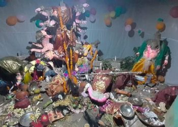 Communal tension grips Bangladesh as Durga Puja pandals 'attacked, vandalise' 3
