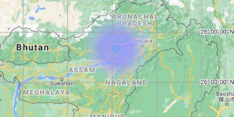 3.3 magnitude earthquake shakes eastern Assam 1