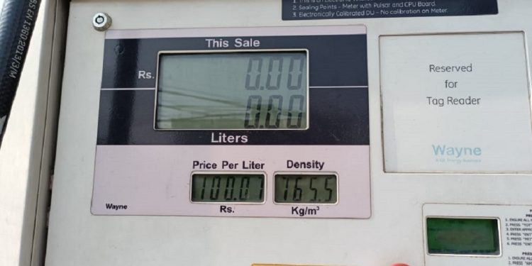 Petrol price in Guwahati breaches Rs 100 mark, commuters outraged 1