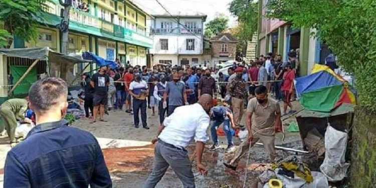 Mizoram: Man kills ex-wife by 'suicide bombing' 1