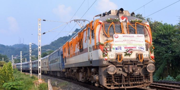 NF Railway completes electrification of track upto Guwahati 1