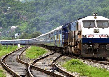 NF Railway train Assam