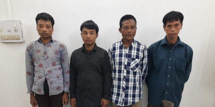 Tripura: Four NLFT (PD) militants surrender before police 1