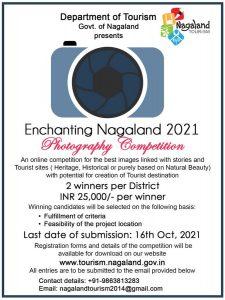 Nagaland Tourism dept initiative: Enchanting Nagaland 2021 Photography Competition 1