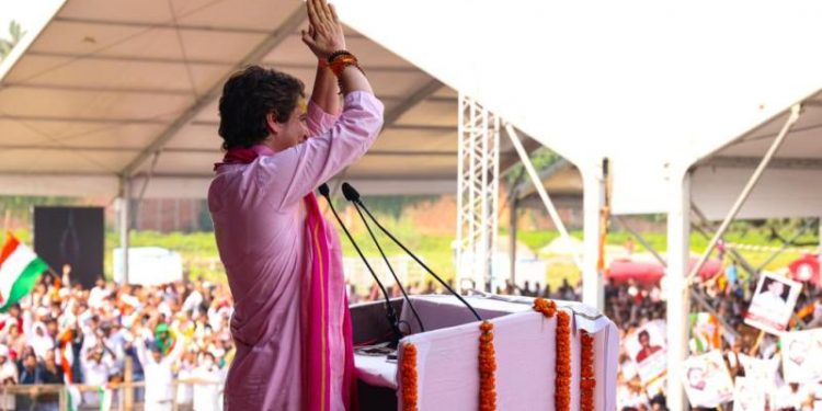 Priyanka Gandhi attacks Modi, says only BJP Leaders, their billionaire friends are safe in India 1